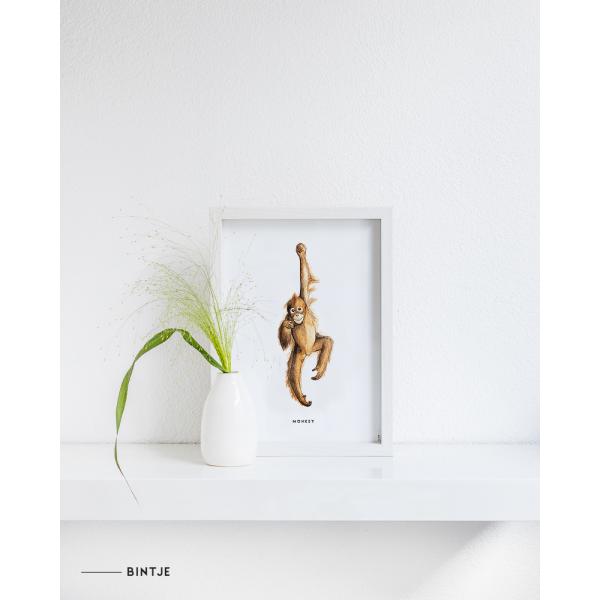 Poster Aap A: A4 - 10 stuks
