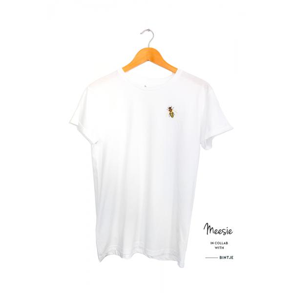 Unisex T-shirt Bij - 4 stuks