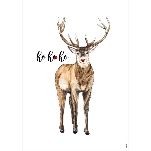 Poster Kerst - 6 stuks