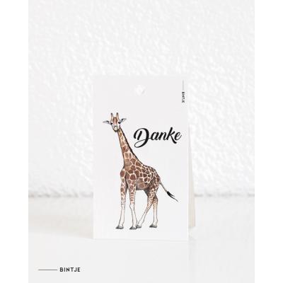 Cadeaukaartjes Giraf DUITS - 20 stuks