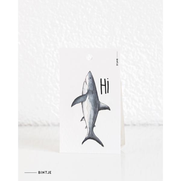 Cadeaukaartjes Haai - 20 stuks