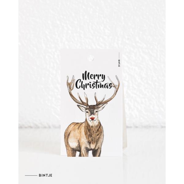 Cadeaukaartjes Kerst - 20 stuks