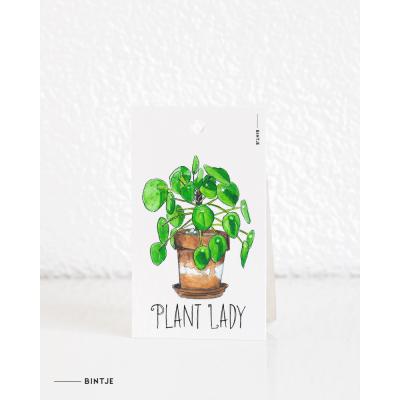 Cadeaukaartjes Plant Pilea - 20 stuks
