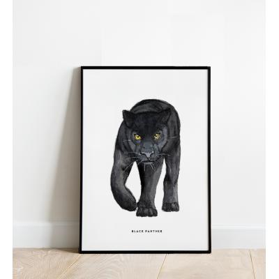 Poster Zwarte panter B: 30x40 - 6 stuks