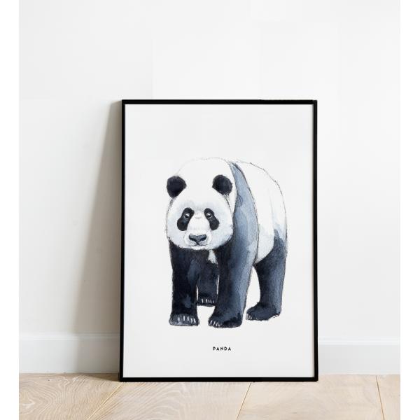 Poster Panda B: 30x40 - 6 stuks