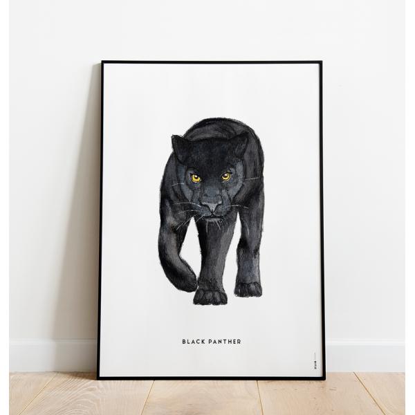 Poster Zwarte panter C: 50x70 - 6 stuks