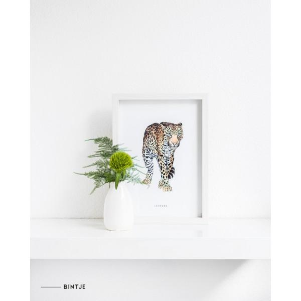 Poster Luipaard A: A4 - 6 stuks