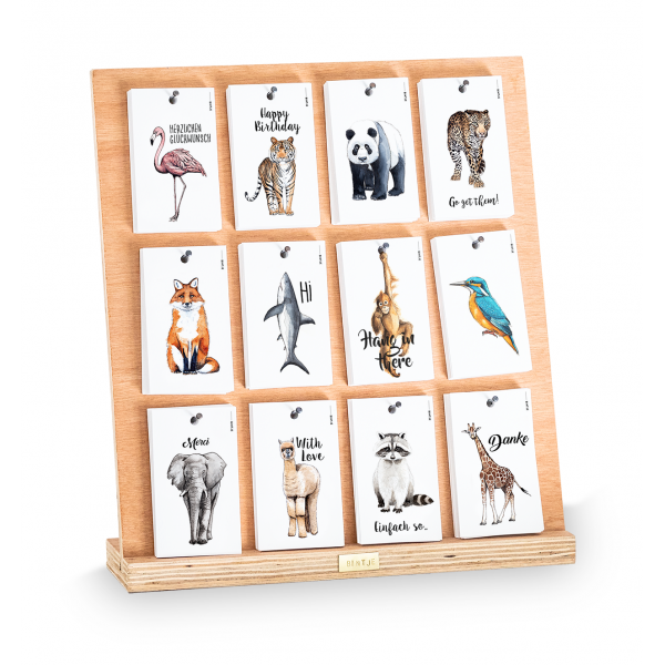Display gr incl 240 kaartjes DUITS
