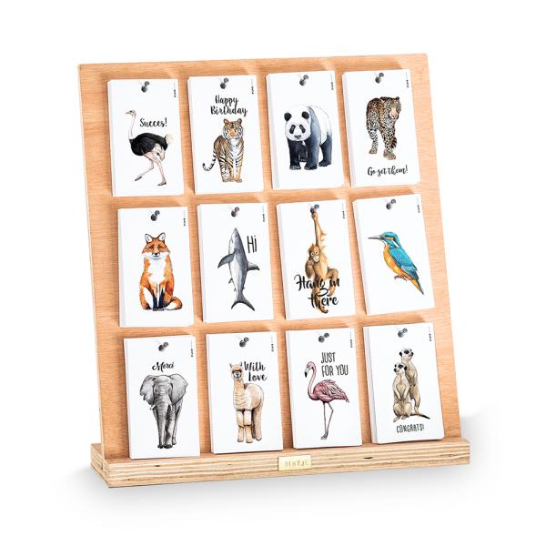 Display gr incl 240 kaartjes ENGELS