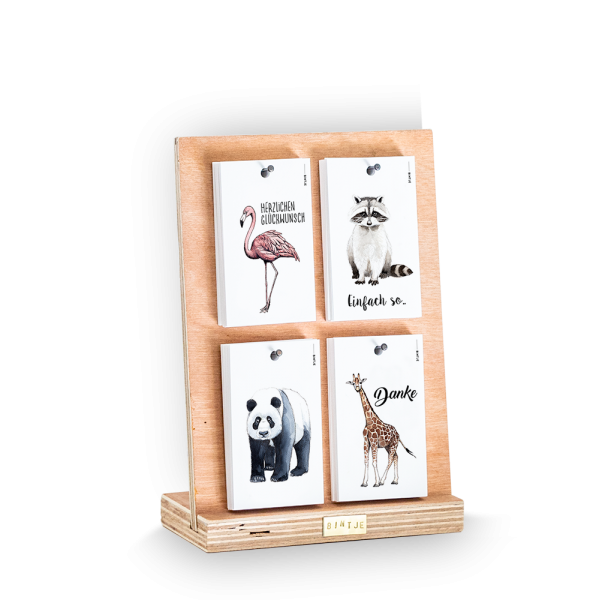 Display incl 80 kaartjes DUITS