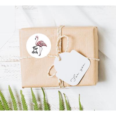 Stickers Flamingo Duits op rol