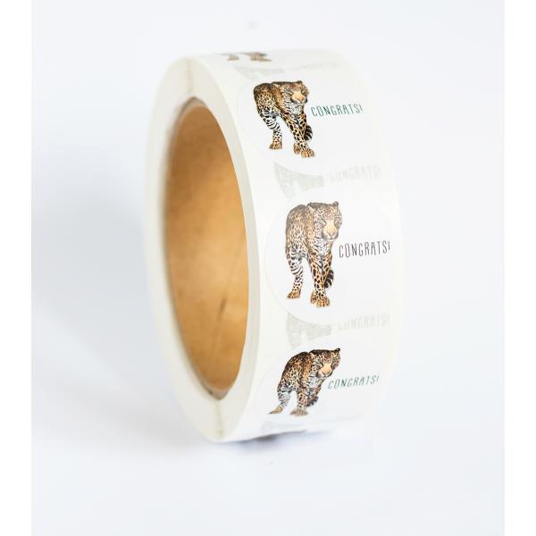 Stickers Luipaard op rol