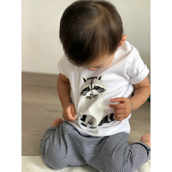Baby T-shirt Wasbeer