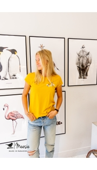 T-shirt Bijen - 6 stuks