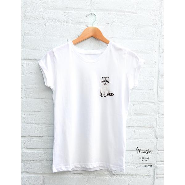 Slimfit T-shirt Wasbeer