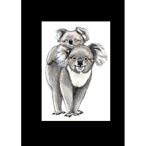 Ansichtkaart Koala - 10 stuks