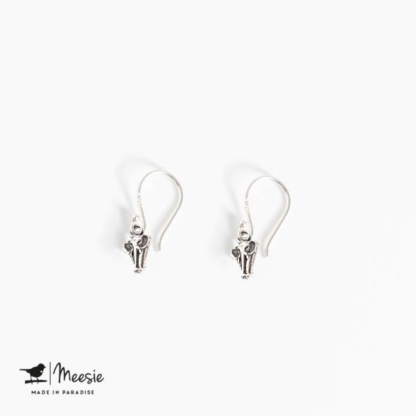 Oorbellen Hangers Olifant zilver - 3 sets