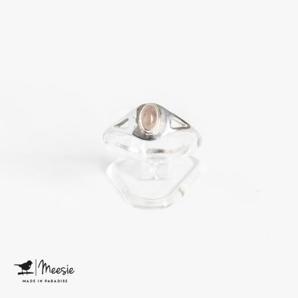 Ring Empress Maansteen edelsteen zilver