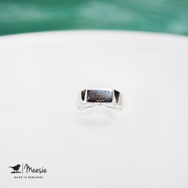 Ring Tokio zilver - 3 stuks