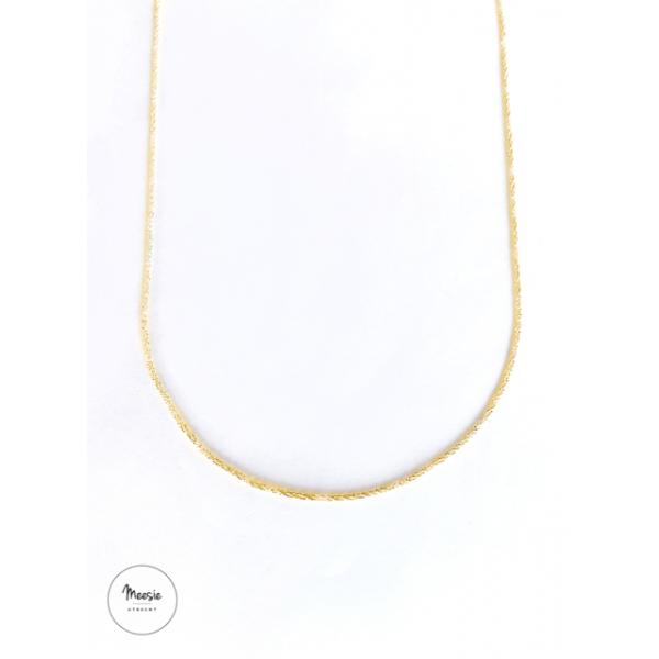 Ketting: Miracle goud op zilver - 3 kettingen