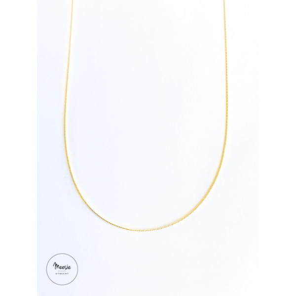 Ketting: Bliss goud op zilver - 3 kettingen